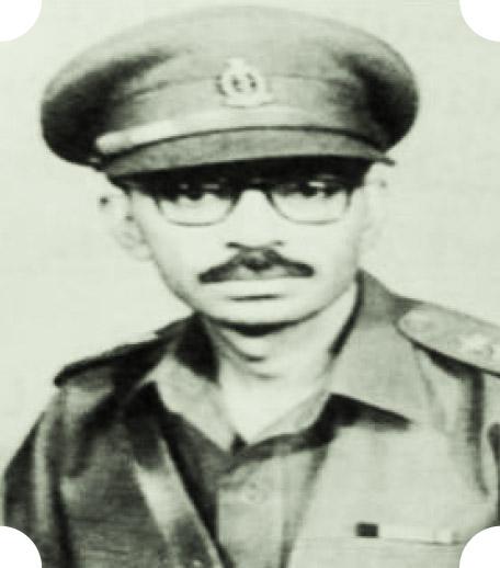 Capt. (Later Brig) BC Chopra, VrC