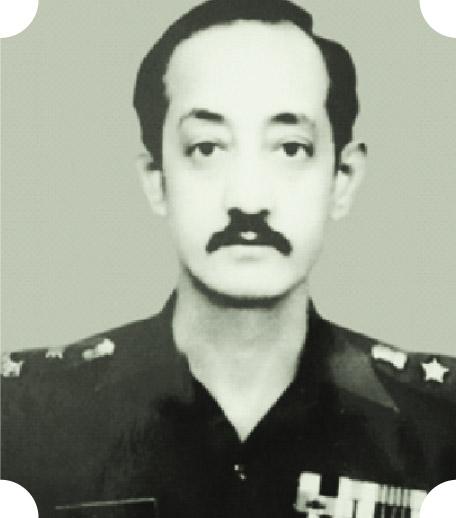 Lt (Later Lt Col) Amar Singh Khatri, VrC